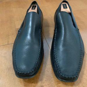 Ted Baker Black Leather Slip On US 14